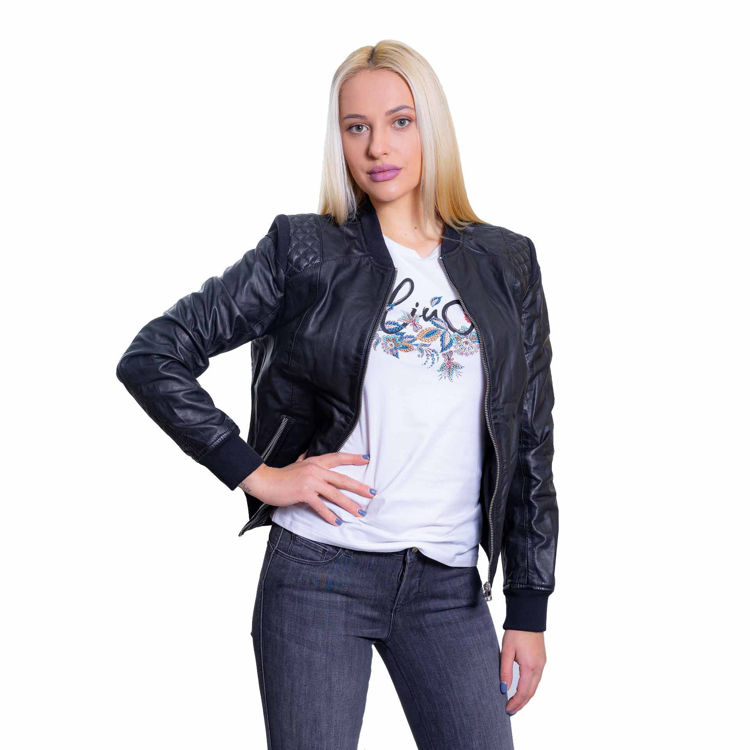 Picture of Women's leather jacket WELLFORD